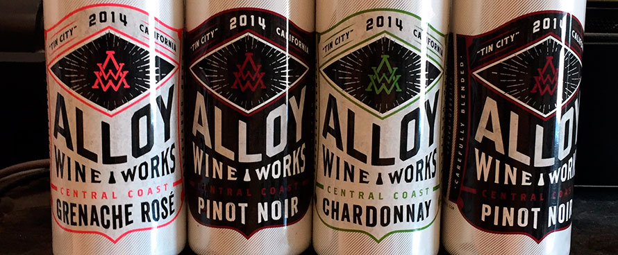 Alloy Wine Works Varieties