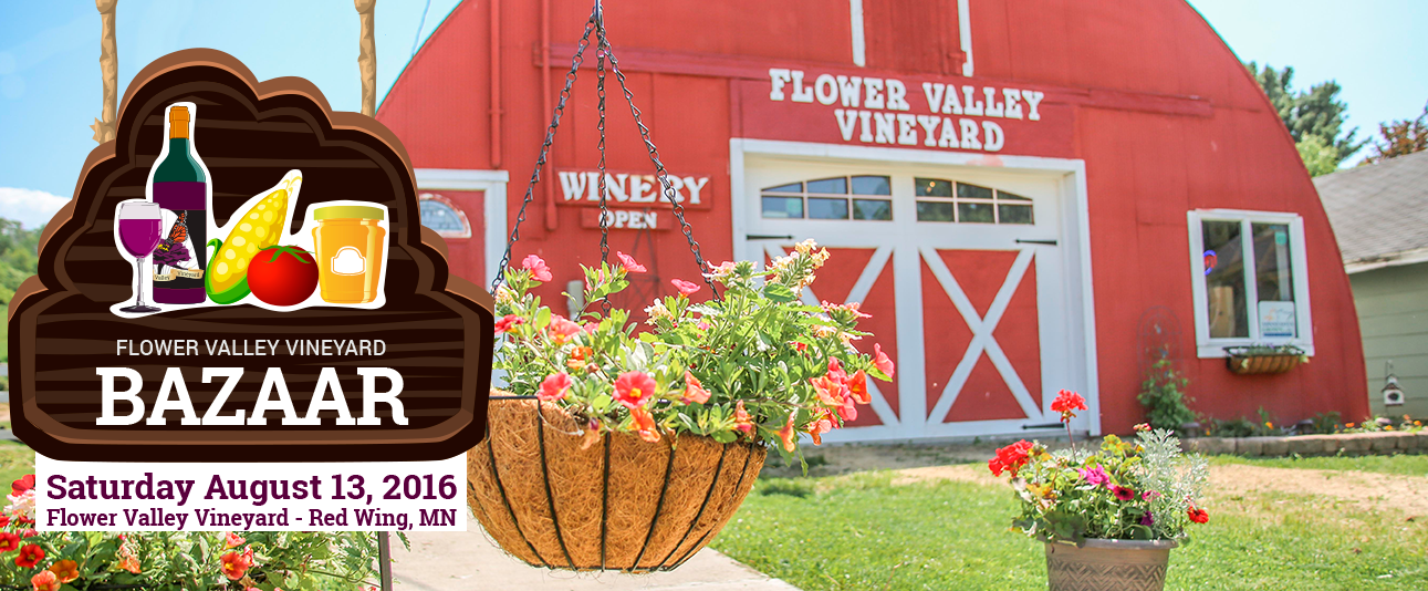 Farmer's Market in Red Wing at Flower Valley Vineyard http://bit.ly/2a2EM0C
