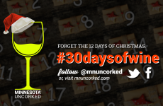 This December! 30 days of wine on MN Uncorked http://bit.ly/2gK4Jmj
